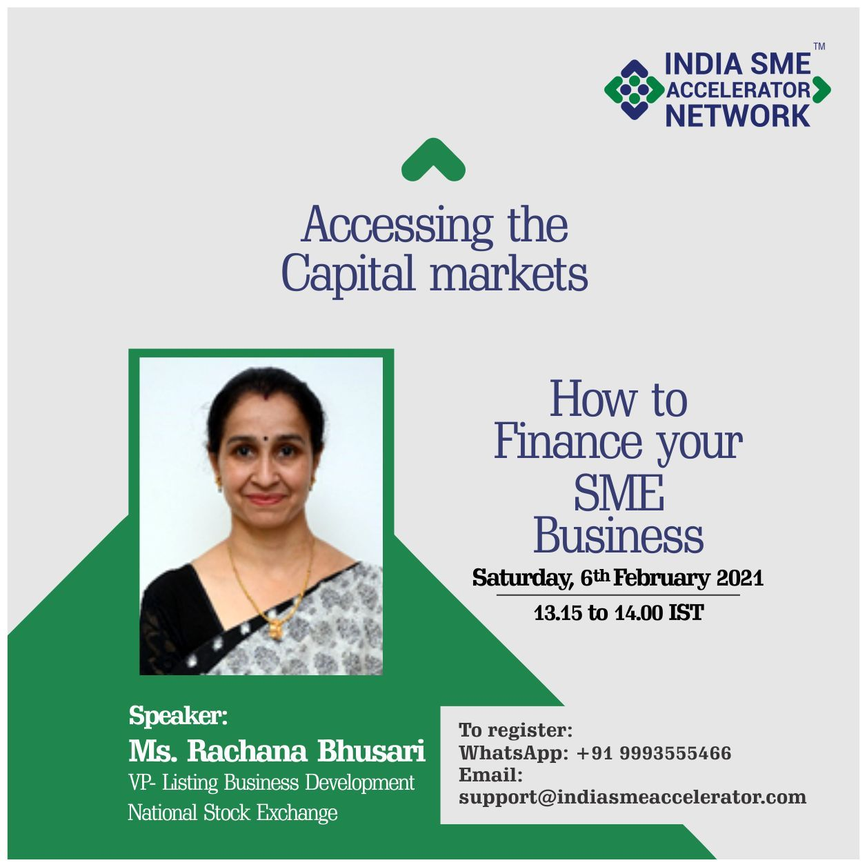 Accessing the capital market
