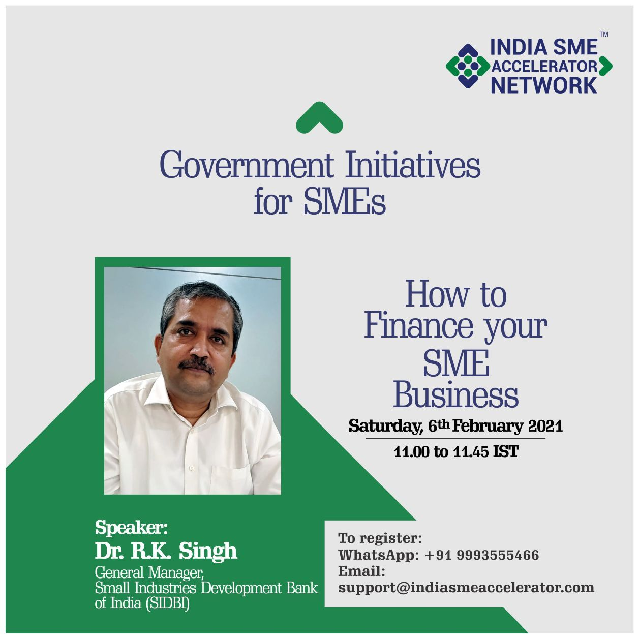 Government Initiatives for SME