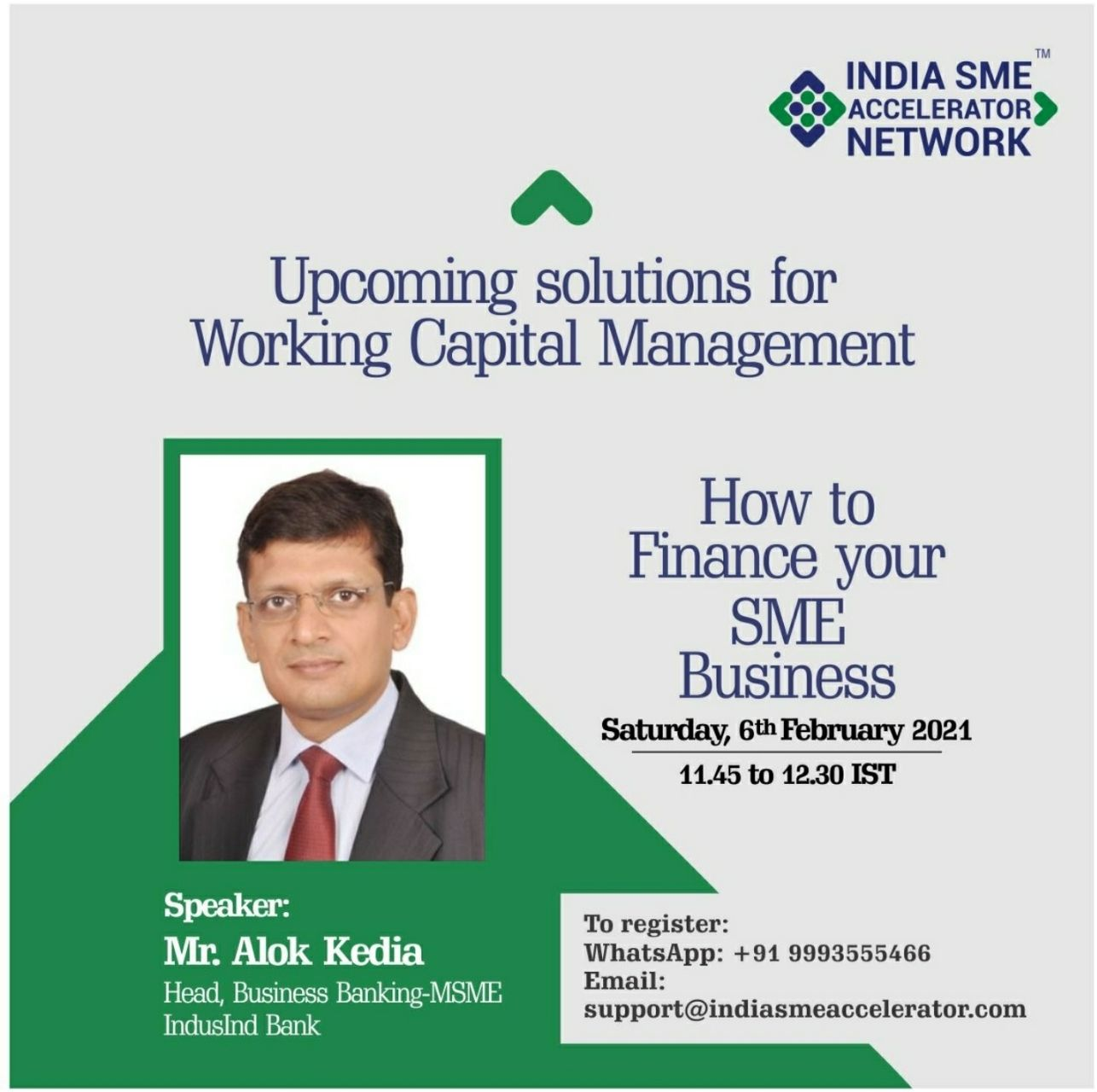 upcoming solutions for working capital management